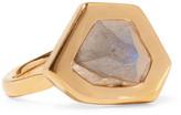 Monica Vinader Petra Gold Vermeil Labradorite Ring - K