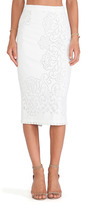 kelly ripa  Who made  Kelly Ripas cropped white  top and white lace skirt?