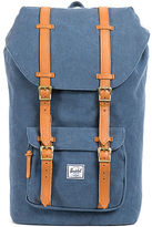 Herschel Supply The Little America Backpack in Washed Navy Canvas