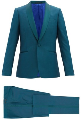 Paul Smith Single-breasted Shawl-lapel Soho-fit Tuxedo - Green