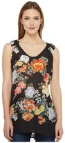 Johnny Was Zia V-Neck Tank Top Women's Sleeveless