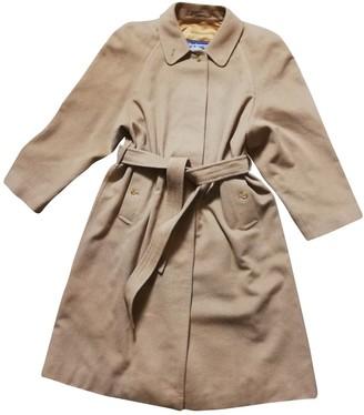 Burberry Camel Cashmere Coats