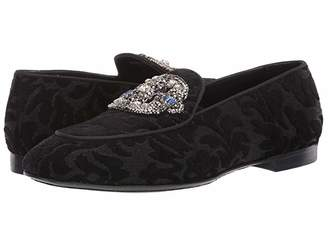 Etro Jacquard Flat (Black) Women's Shoes