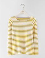 Boden Long Sleeve Short Line Breton