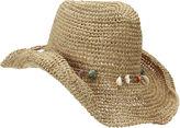 Nine West Casual Straw Cowboy Hat