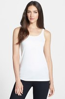 Eileen Fisher Petite Women's Scoop Neck Silk Camisole