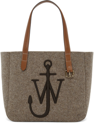 J.W.Anderson Taupe Anchor Tote