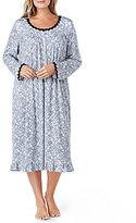 Eileen West Plus Paisley Waltz Nightgown