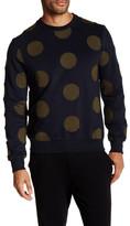 Eleven Paris ELEVENPARIS Circle Printed Crewneck Sweater
