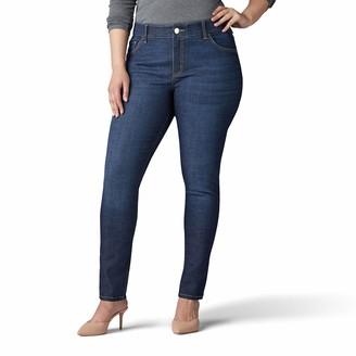 Lee Women's Plus Size Flex Motion Regular Fit Skinny Leg Jean