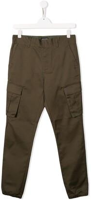 Emporio Armani Kids TEEN cargo trousers