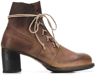 Cherevichkiotvichki Heeled Lace-Up Boots