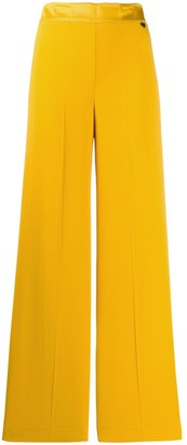 Twin-Set High-Waist Wide Leg Trousers
