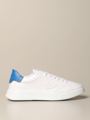 Philippe Model Temple Veau Sneakers In Leather