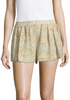 Prose & Poetry Rodney Flared Slim-Fit Shorts