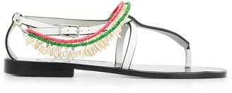 Loewe Paula flat beaded sandals