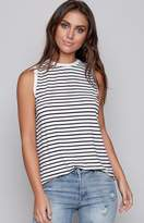 The Fifth Label The Fifth Shine By Tank Black White Stripe