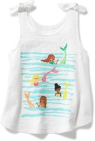 Old Navy Graphic Tie-Shoulder Swing Tank for Toddler