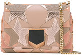 Jimmy Choo embellished small Lockett crossbody bag - women - Leather/metal - One Size