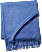 One Kings Lane Cashmere Throw, Provence Blue