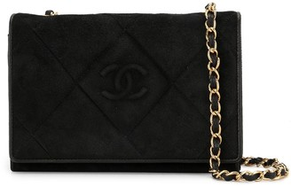 Chanel Pre Owned 1985-1993s quilted CC single chain shoulder bag