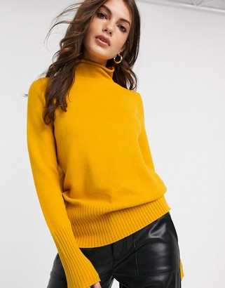 French Connection Del Vhari front seam jumper