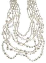 Kenneth Jay Lane Multi-Row Mixed Strand Necklace