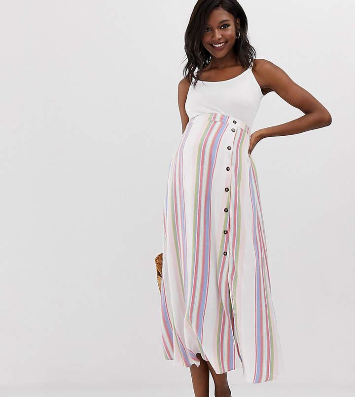 42b90fd4941de Long Maternity Skirts - ShopStyle