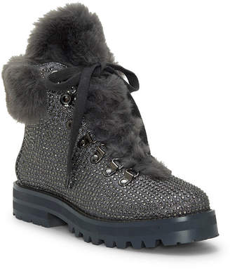 Jessica Simpson Norina Embellished Hiker Booties Women Shoes