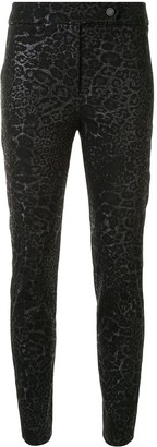 Manning Cartell Australia Jacquard Leopard Skinny Trousers