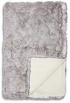 Hudson Park Frosted Faux Fur Throw