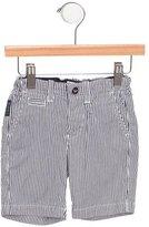 Armani Junior Boys' Striped Knee-Length Shorts