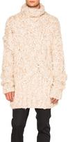Ann Demeulemeester Hand Knitted Sweater
