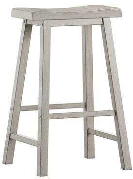Three Posts Sharman Bar & Counter Stool Seat Height: Bar Stool (28.62â Seat Height), Color: Antique Sage