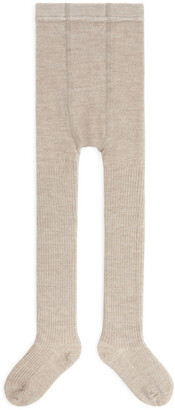 Arket Wool Rib Tights