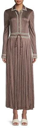 Tory Burch Silky Knit Shirtdress