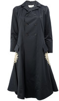 Wales Bonner flared embroidered coat