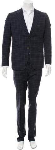 Gucci Wool Two-Piece Suit w/ Tags