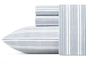 Nautica Beaux Stripe Queen Sheet Set Bedding