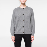 Paul Smith Women's Grey Marl Cashmere Cardigan