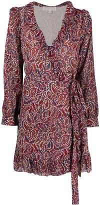 MICHAEL Michael Kors Paisley Print Shirt Dress
