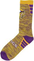 For Bare Feet Minnesota Vikings Jolt Socks