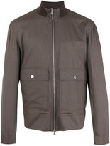 Brunello Cucinelli Harrington jacket - men - Silk/Cotton/Virgin Wool - 50