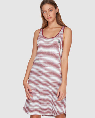 RVCA Grim Stripe Dress