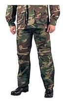 Rothco 5957 ULTRA FORCETM UFLAGE B.D.U. PANTS - RIP-STOP- XSMALL SHORT