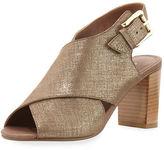 Donald J Pliner Indo Crisscross Chunky-Heel Sandal