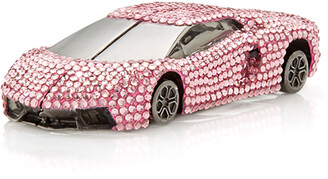 Judith Leiber Couture V12 Sportscar Crystal Pillbox