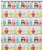 Bed Bath & Beyond Owl PEVA 70-Inch x 72-Inch Shower Curtain