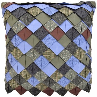 Donna Sharp Bear Lake Roof Tile Decorative Pillow