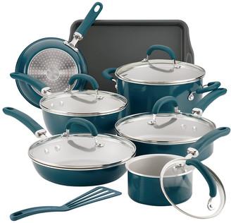 Rachael Ray Create Delicious Aluminum Nonstick Cookware Set